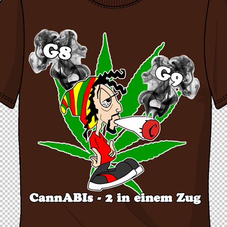 abimotiv cannabis 2 in einem zug a 108952 80 auf deinem abi shirt von schuldruckerei. Black Bedroom Furniture Sets. Home Design Ideas