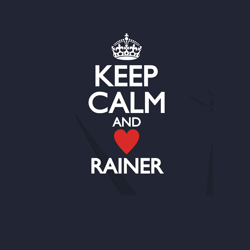 abschlussmotiv keep calm and love rainer a 146485 0. Black Bedroom Furniture Sets. Home Design Ideas