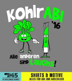 Abimotto Kohlrabi Auf Eurem Shirt Von Schuldruckerei Com