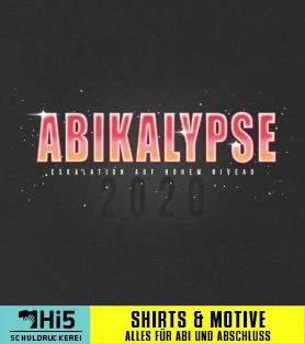 Abimotto Abikalypse Auf Eurem Shirt Von Schuldruckereicom